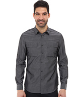 Calvin Klein - L/S Chambray Roll Up Woven Shirt