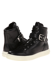 Pierre Balmain - Buckle Hi-Top Sneaker