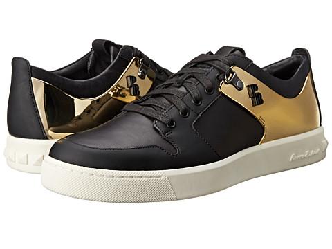 Pierre Balmain Metallic Panel Sneaker Black
