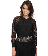 Pierre Balmain - Long Sleeve Lace Blouse