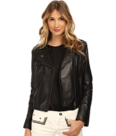 Pierre Balmain - Leather Moto Jacket
