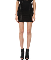 Pierre Balmain - Mini Skirt with Lace-Up Detail