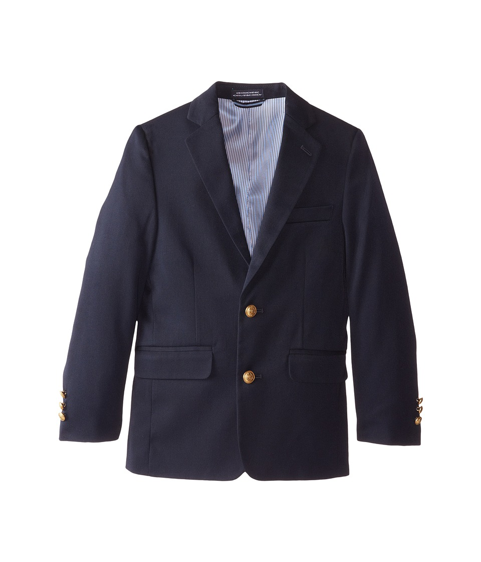 Tommy Hilfiger Kids - Alexander Blazer (Big Kids) (Master Navy) Boys Jacket