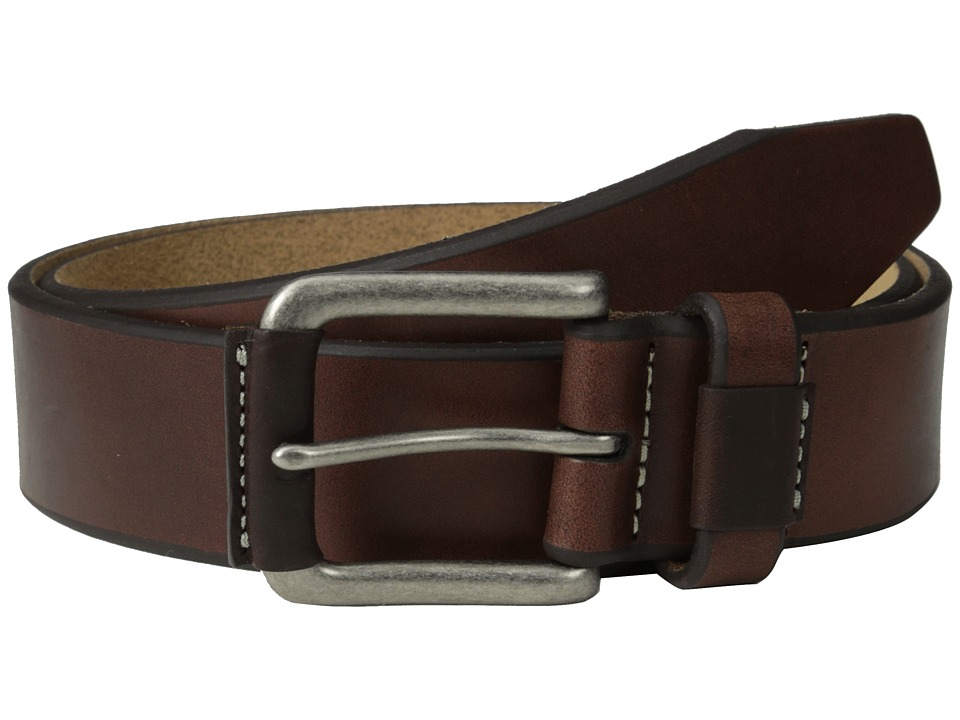 Johnston & Murphy - Wrapped Buckle (Brown) Mens Belts