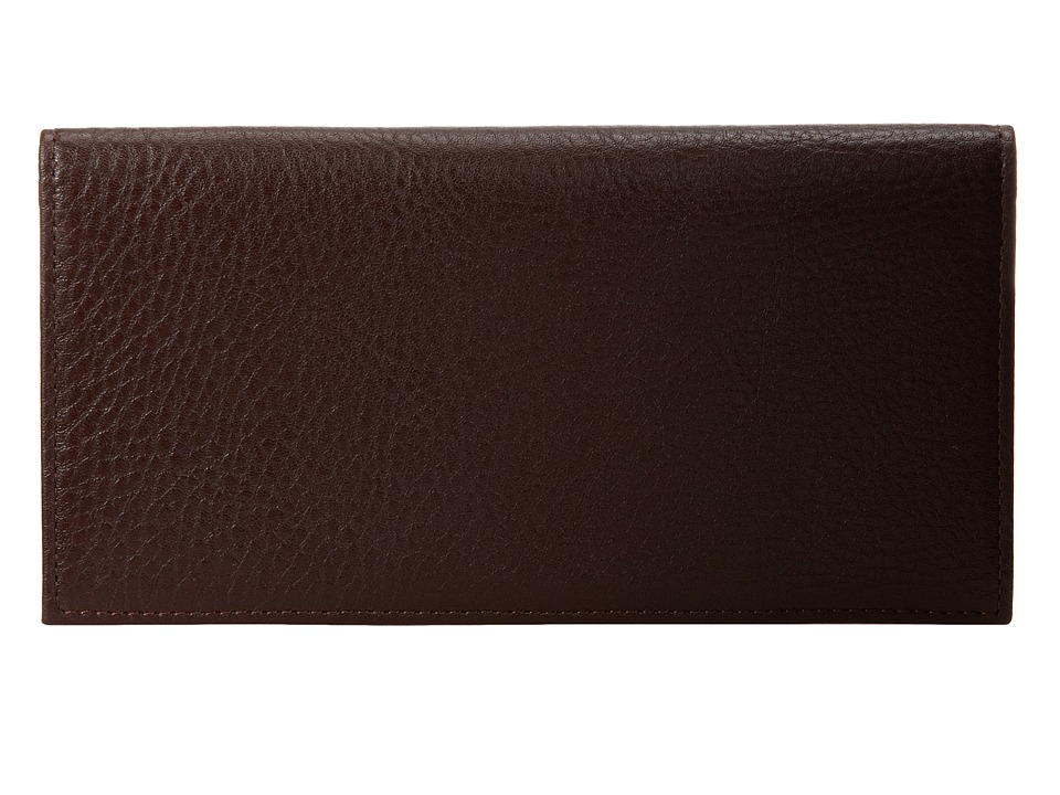Johnston amp Murphy Checkbook Cover 2 Dark Brown Checkbook Wallet