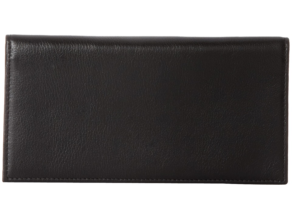 Johnston amp Murphy Checkbook Cover 2 Black Checkbook Wallet