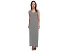 KAMALIKULTURE Go Sleeveless U-Neck Maxi (Black/Off White Stripe)