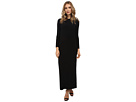 KAMALIKULTURE Go Long Sleeve Crew Neck Maxi (Black)