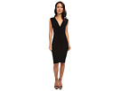 KAMALIKULTURE Shirred Party Dress (Black)