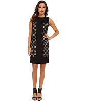 Laundry by Shelli Segal - Laser Cut Ponte Dress