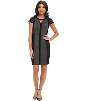 Laundry by Shelli Segal - Ponte and Lace Dress