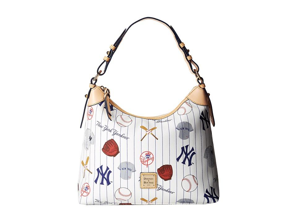 Dooney amp Bourke MLB Hobo Yankees/White Hobo Handbags