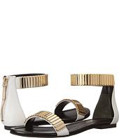 Pierre Balmain - Facet Stone Ankle Strap Sandal