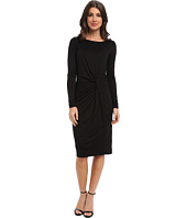 Three Dots - Boatneck L/S Knot Dress