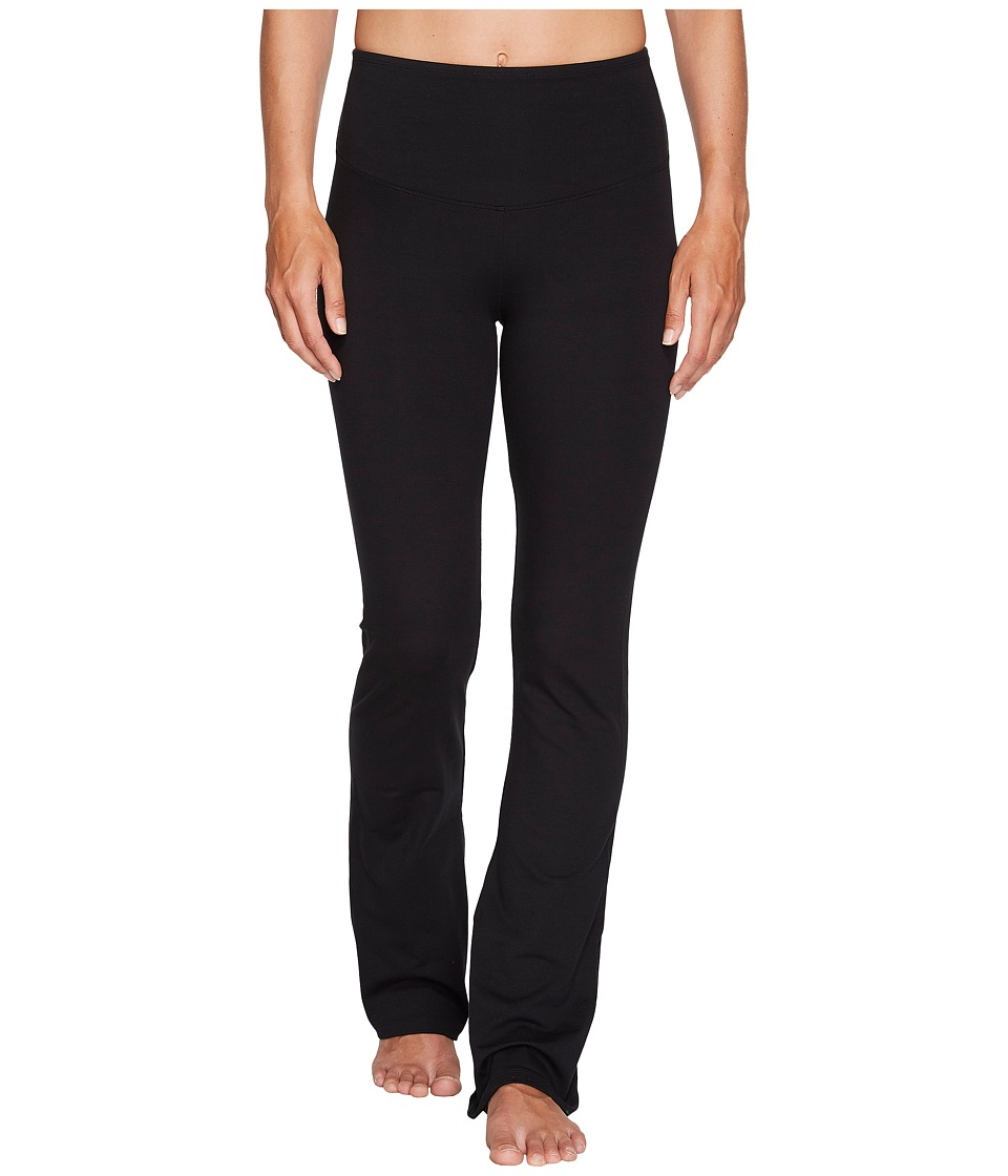 Yummie - Jodi Boot Cut Cotton Shaping Legging (Black) Womens Casual Pants