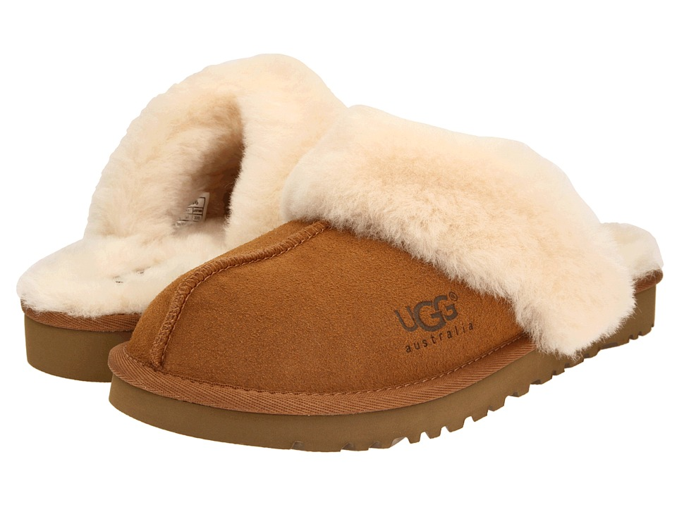 UGG Kids Cozy Toddler/Little Kid/Big Kid Chestnut Girls Shoes