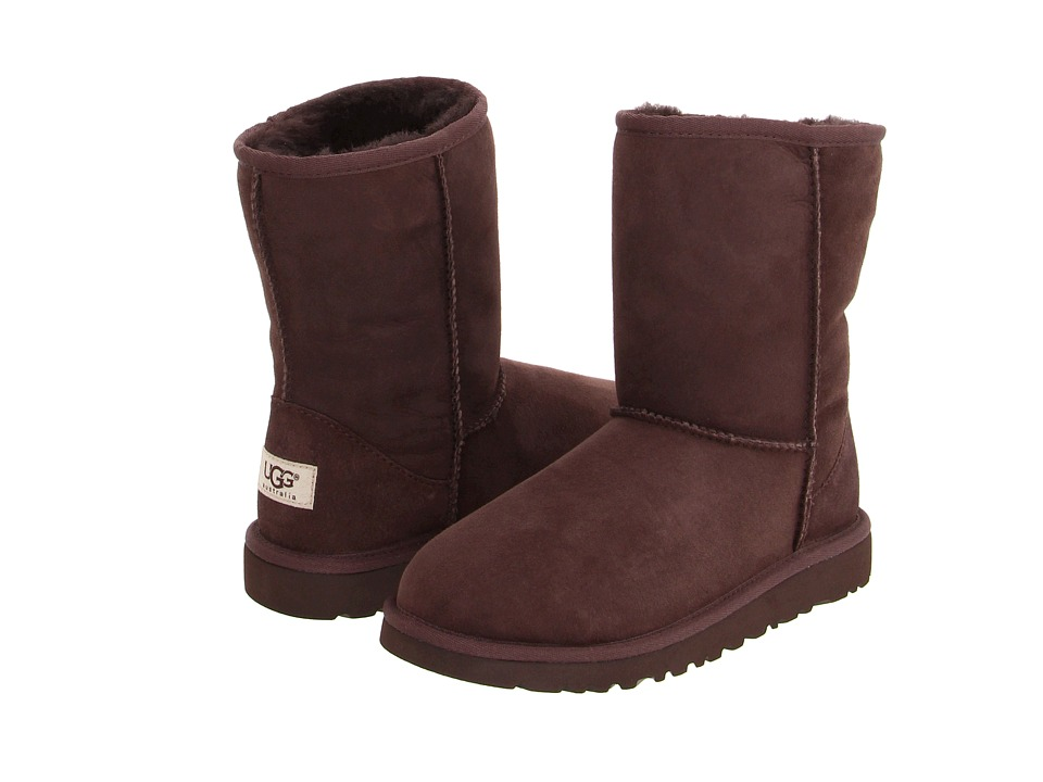 UGG Kids - Classic (Little Kid/Big Kid) (Chocolate) Kids Shoes