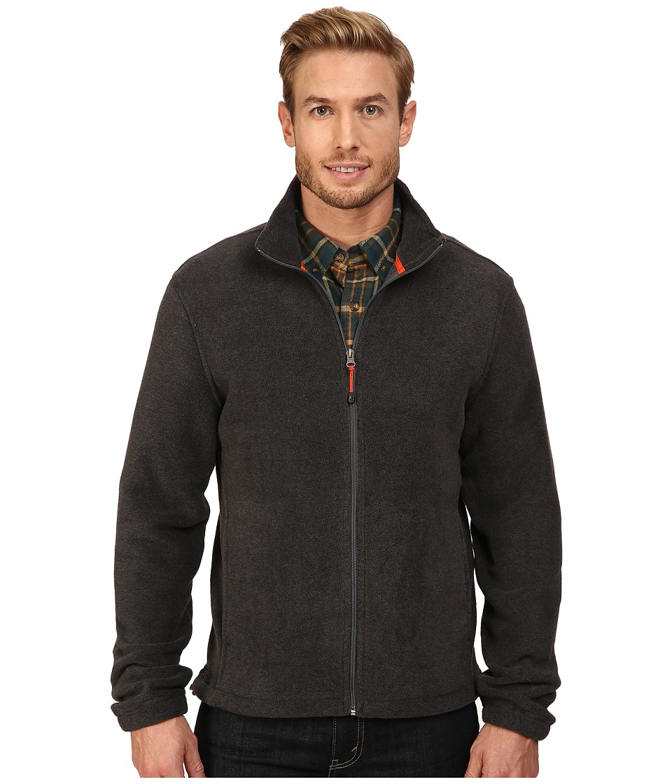 Woolrich Andes II Fleece Jacket (Charcoal Heather) Men