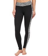 Trina Turk - Black & White Zig Zag Full-Length Legging