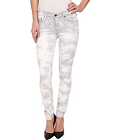 True Religion - Halle Moto Mid Rise Skinny in Something Unusual