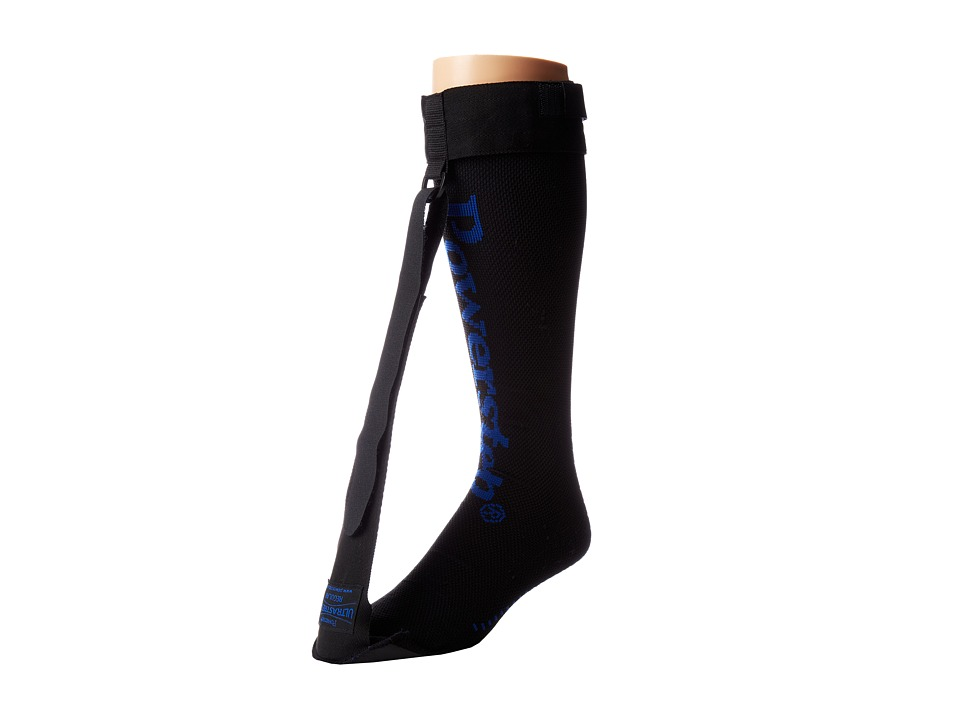 Powerstep - UltraStretch Night Sock (Black/Blue) Workout