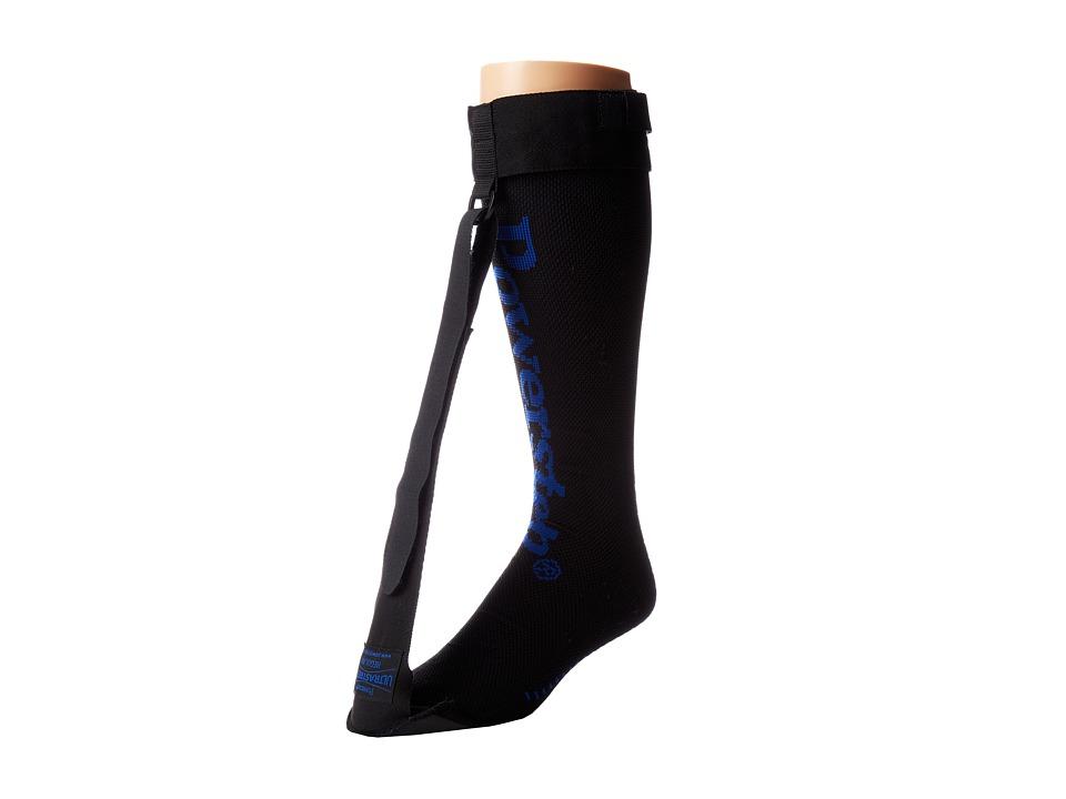 Powerstep UltraStretch Night Sock Black/Blue Workout