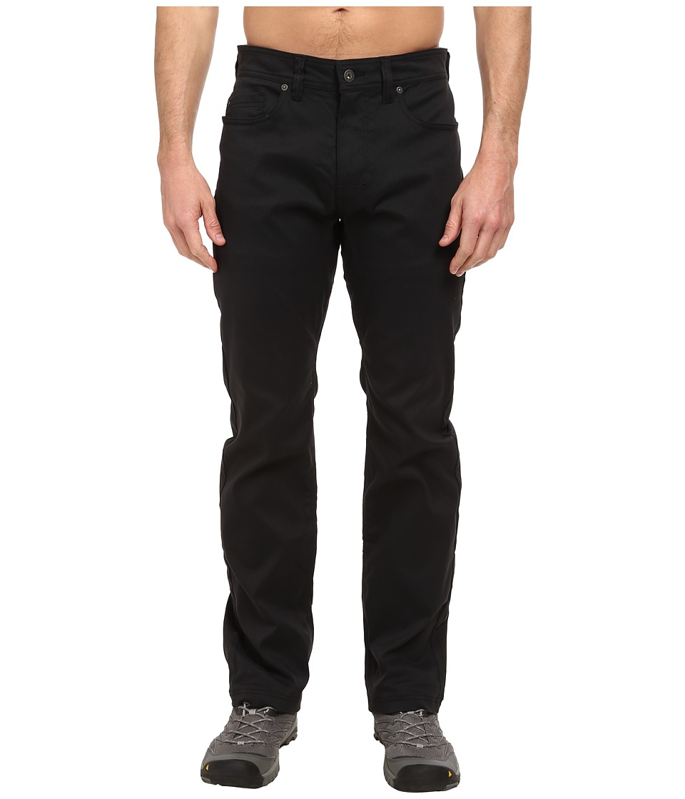 Prana - Brion Pant (Black) Mens Casual Pants