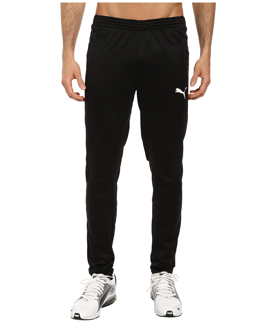 PUMA Training Pant (Black/White) Men