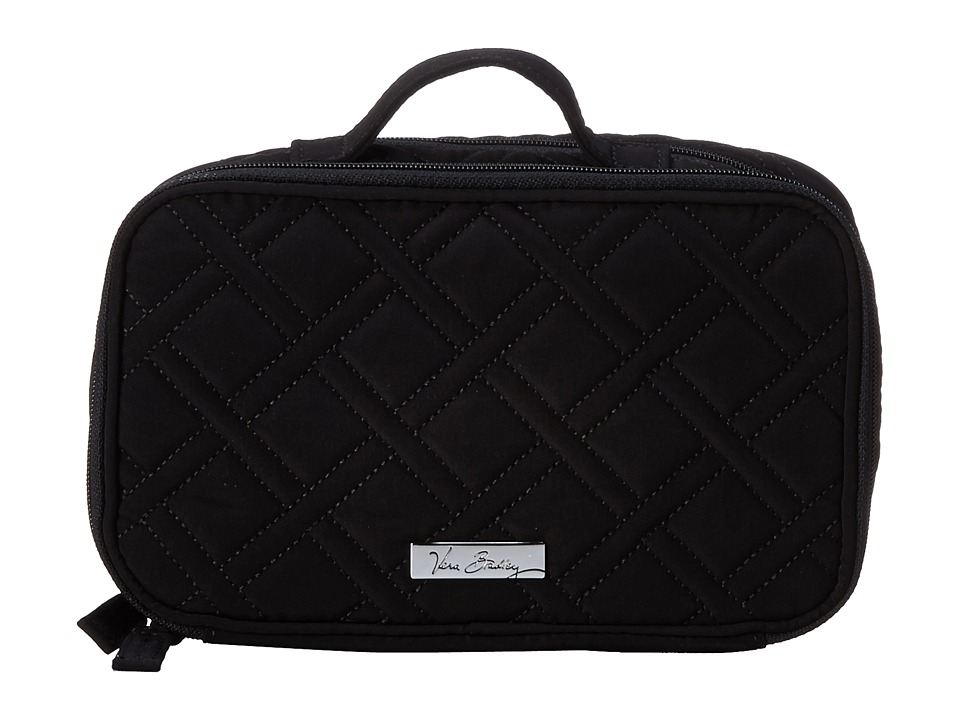 Vera Bradley Luggage Blush Brush Makeup Case (Classic Black) Cosmetic Case