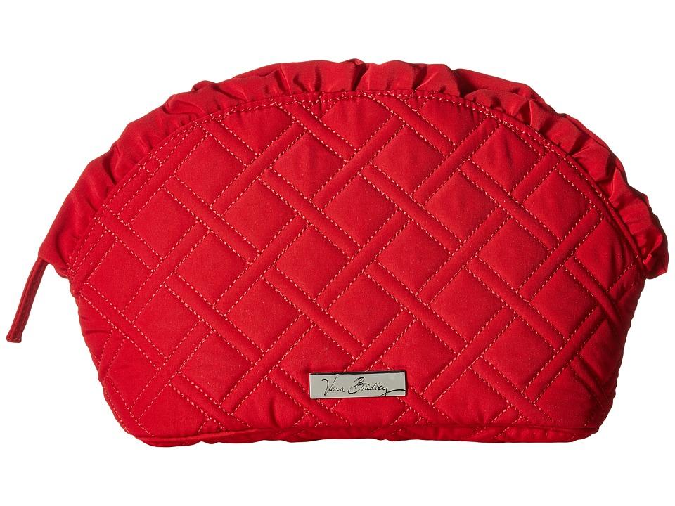 Vera Bradley Luggage - Large Ruffle Cosmetic (Tango Red) Luggage