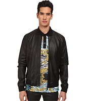 Versace Collection - Perforated Leather Jacket