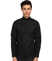 Versace Collection - Medusa Textured Solid Shirt