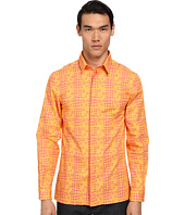 Versace Collection - Painted Geometric Print Shirt