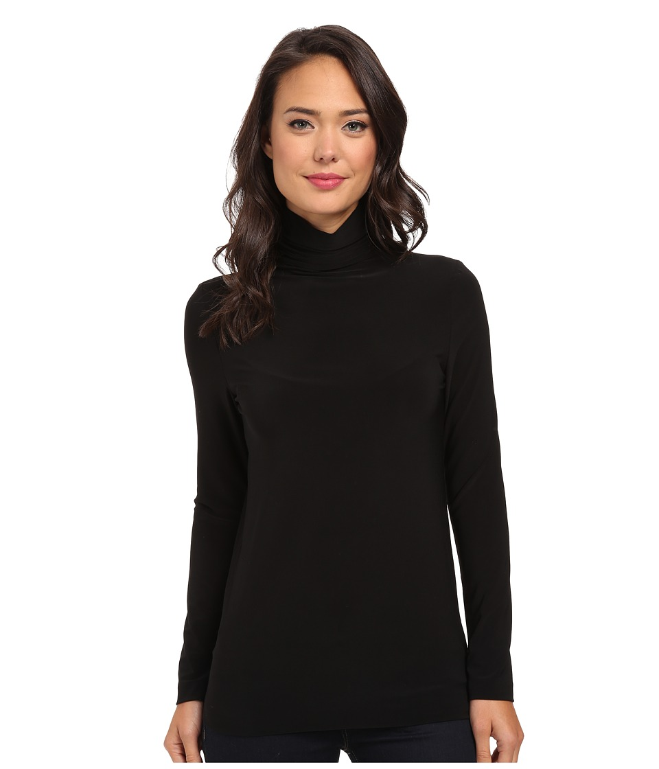 KAMALIKULTURE by Norma Kamali - Go Turtleneck (Black) Womens Clothing