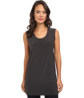 KAMALIKULTURE by Norma Kamali - Go Sleeveless U-Neck Tunic