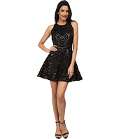 KAS New York - Zoey Fit and Flare Cutwork Dress
