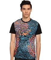 Versace Jeans - Neon Panther Zebra Print Tee
