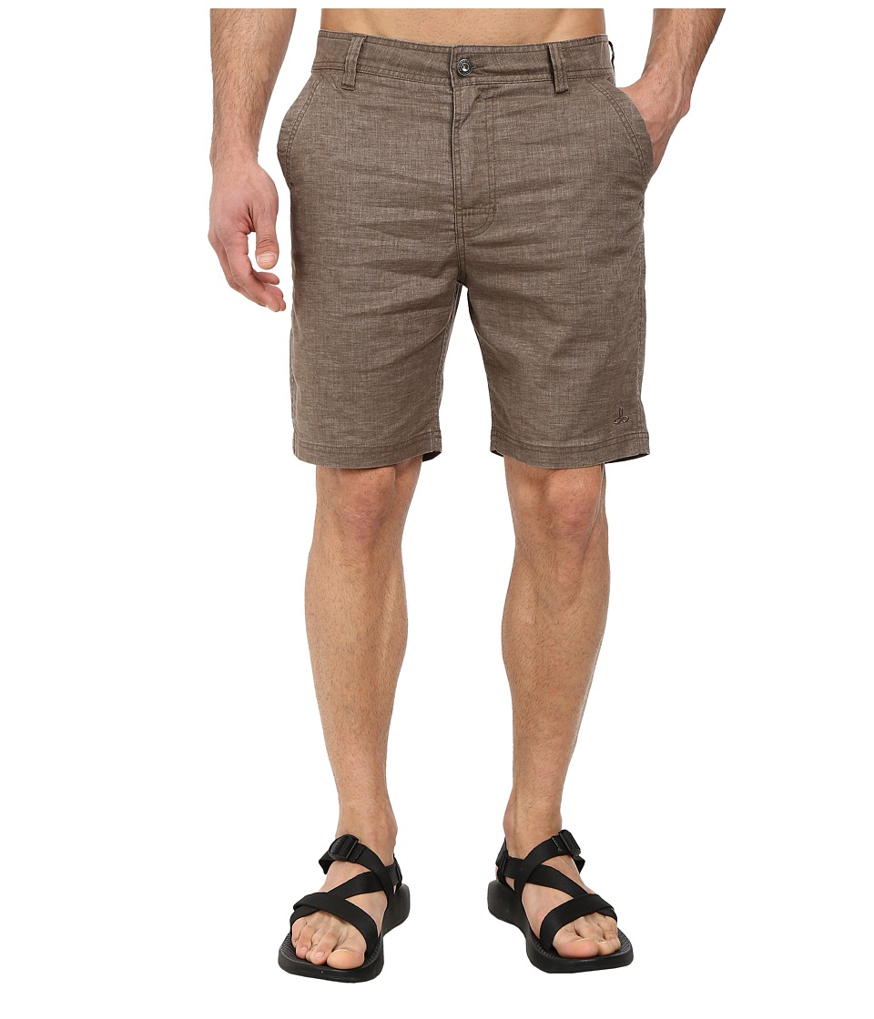 Prana Furrow Short (Mud) Men