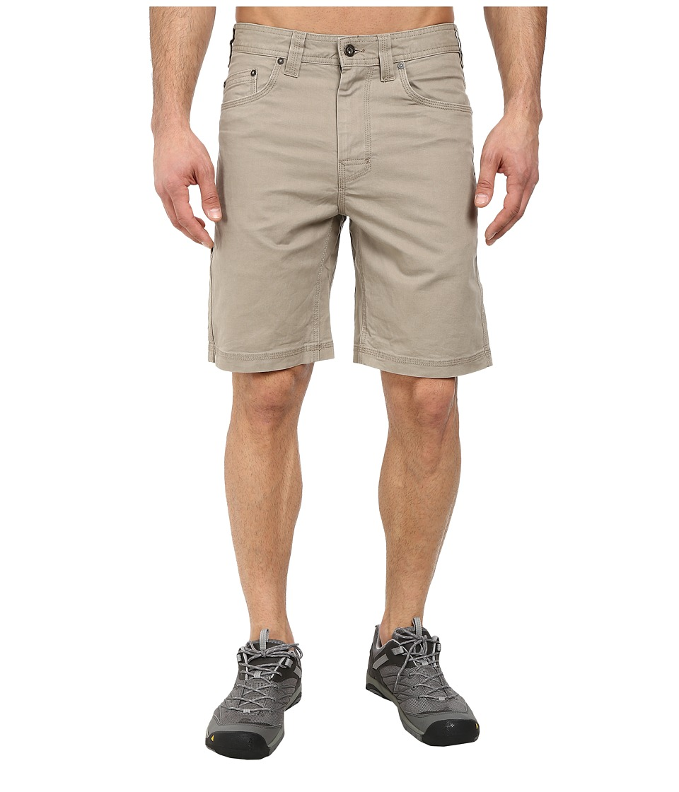 Prana Bronson Short (Dark Khaki) Men