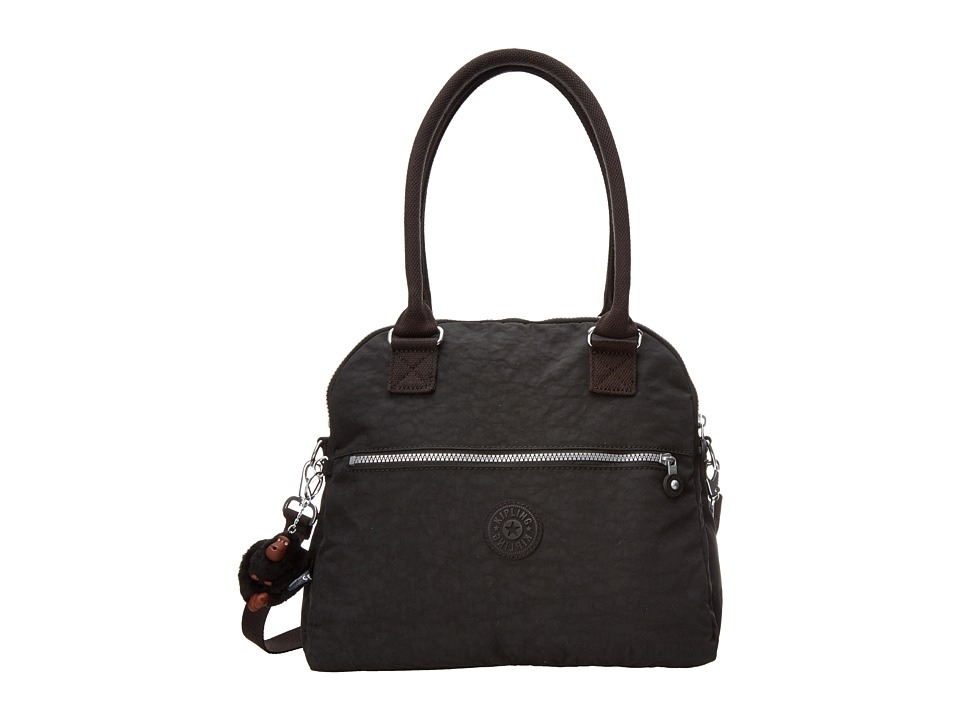 Kipling - Cadie Handbag (Black) Satchel Handbags