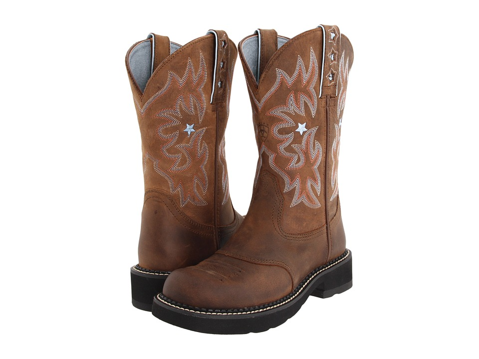 Ariat Probaby (Driftwood Brown) Western Boots