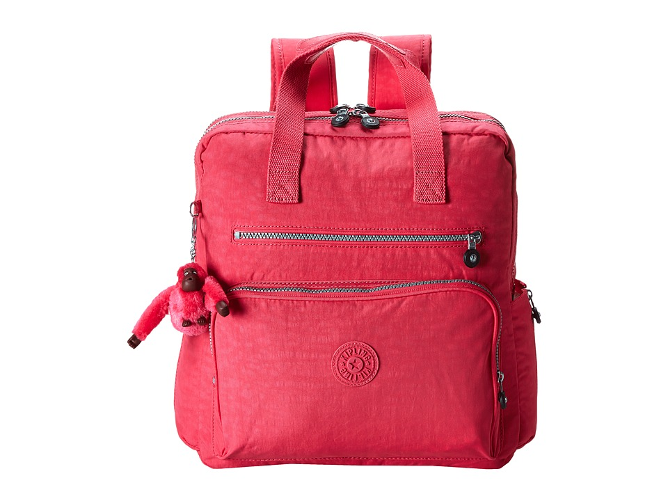 Kipling - Audra Backpack (Vibrant Pink) Backpack Bags