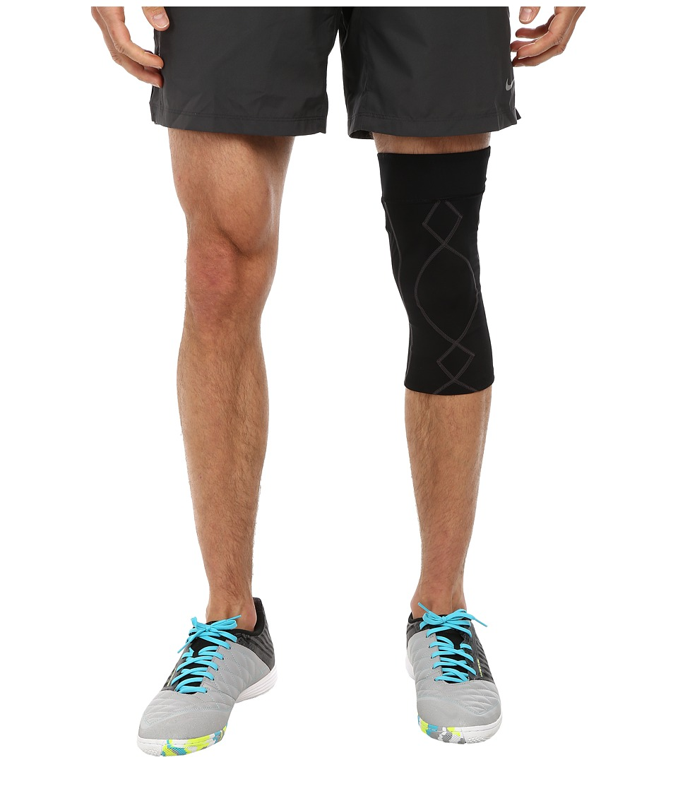 CW X StabilyxTM Knee Support Black/Charcoal Mens Workout