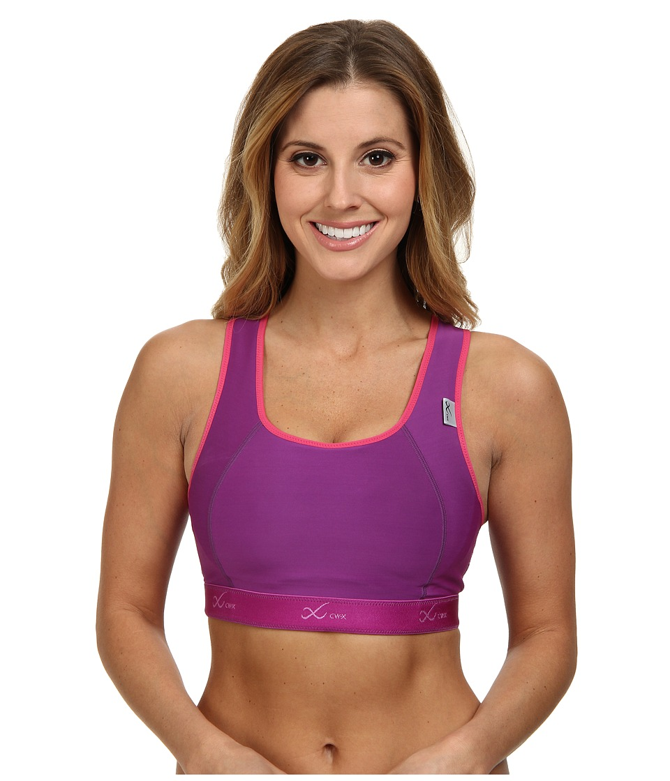 CW X Xtra Support Bra III Purple/Raspberry Womens Bra