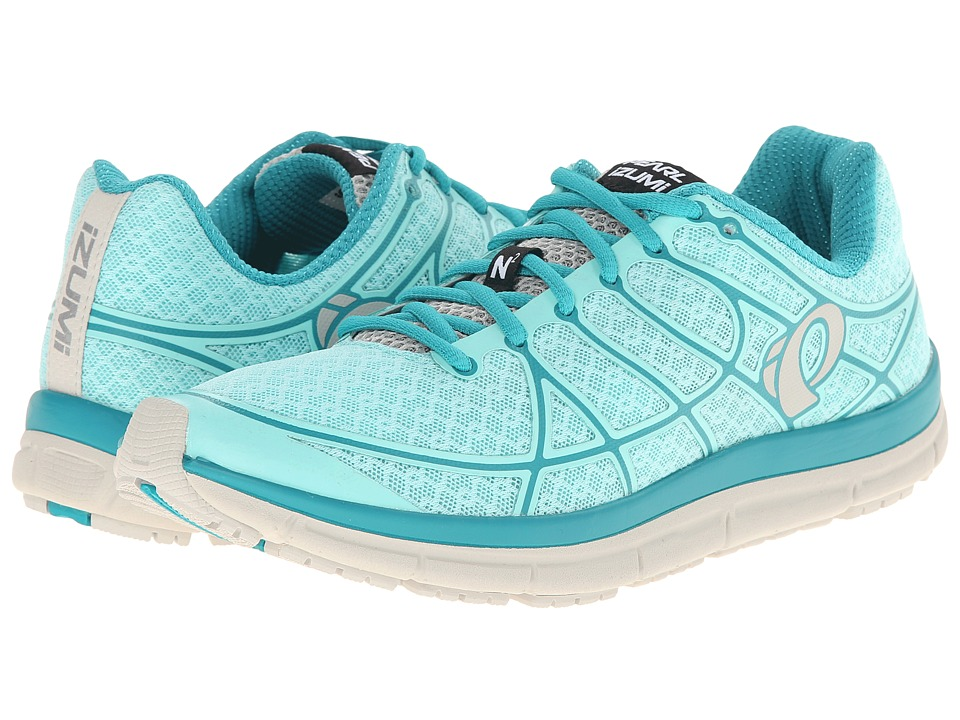 Pearl Izumi Em Road N 2 Aruba Blue/Deep Peacock Womens Running Shoes