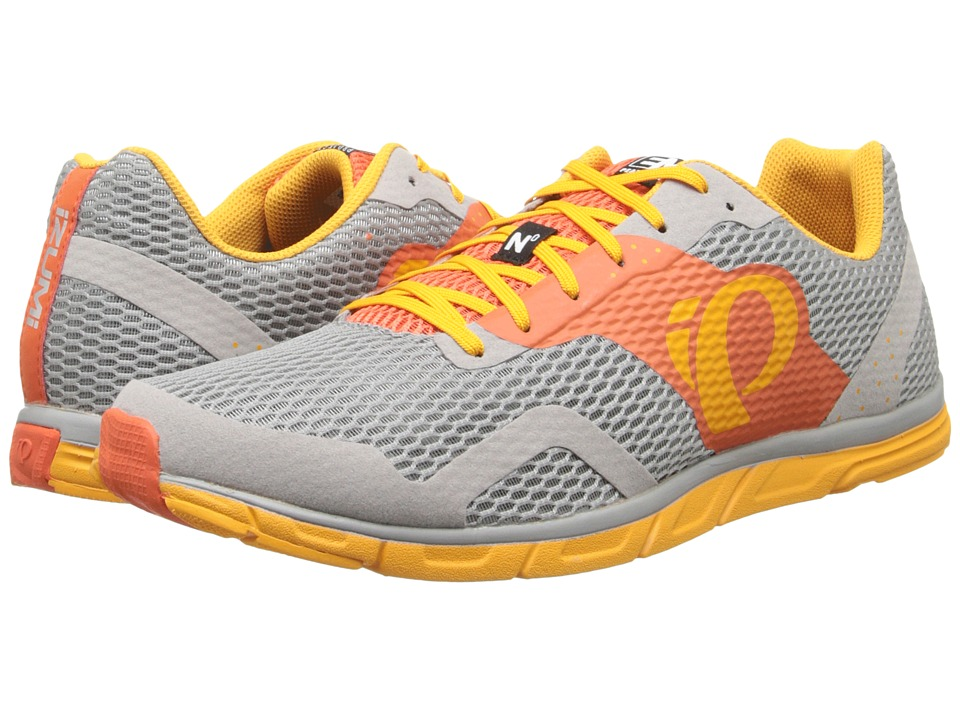 Pearl Izumi Em Road N 0 Mandarin Red/Radiant Yellow Mens Running Shoes