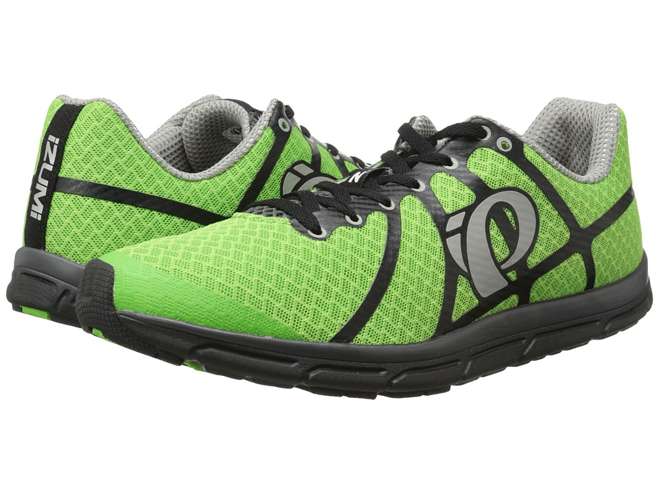 Pearl Izumi Em Road N 1 Green Flash/Black Mens Running Shoes