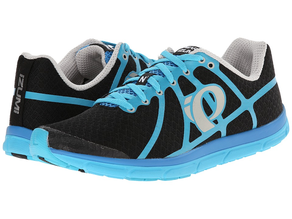 Pearl Izumi Em Road N 1 Black/Blue Atoll Mens Running Shoes