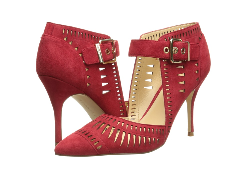 Ivanka Trump Doval (Red Suede) High Heels