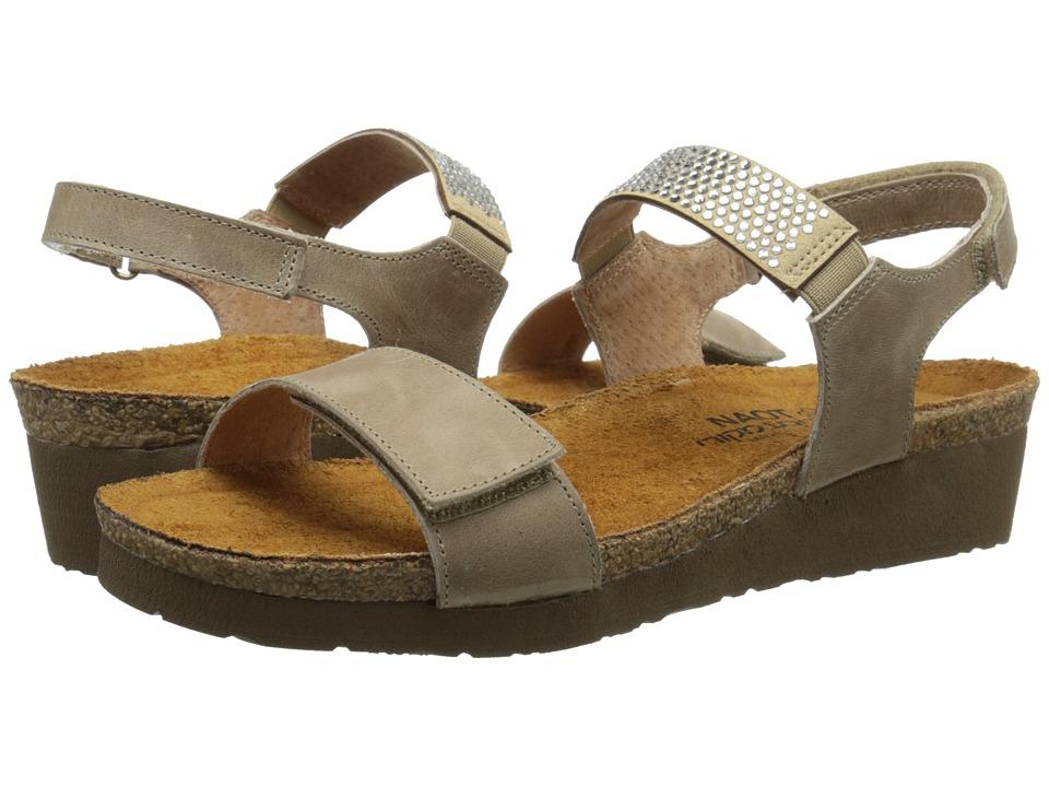 Naot Footwear - Lisa (Khaki Beige Leather) Women